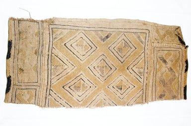 Raffia Cloth, 19th century. Raffia, 18 7/8 x 8 1/2 in. (48.0 x 21.6 cm)9. Brooklyn Museum, Museum Expedition 1922, Robert B. Woodward Memorial Fund, 22.562. Creative Commons-BY