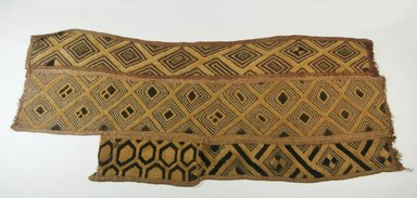 Kuba (Bushoong subgroup). Raffia Cloth, 19th century. Raffia, 31 1/8 x 13in. (79 x 33cm). Brooklyn Museum, Museum Expedition 1922, Robert B. Woodward Memorial Fund, 22.564. Creative Commons-BY