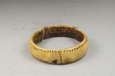 Bracelet, Broken. Ivory Brooklyn Museum, Museum Expedition 1922, Robert B. Woodward Memorial Fund, 22.629. Creative Commons-BY