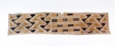 Raffia Cloth, 19th century. Raffia, 24 x 5 1/2 in. (61.0 x 14.0 cm). Brooklyn Museum, Museum Expedition 1922, Robert B. Woodward Memorial Fund, 22.685. Creative Commons-BY