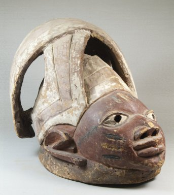 Yoruba. Gelede Mask, late 19th century. Wood, pigment, 11 1/4 x 9 x 14 15/16 in. (28.6 x 22.9 x 37.9 cm). Brooklyn Museum, Museum Expedition 1922, Robert B. Woodward Memorial Fund, 22.757. Creative Commons-BY