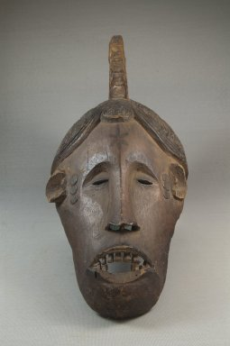 Nupe. Maiden Spirit Mask (Agbogho Mmuo), 19th century. Wood, pigment, 14 1/2 x 6 1/4 x 8 1/4in. (36.8 x 15.9 x 21cm). Brooklyn Museum, Museum Expedition 1922, Robert B. Woodward Memorial Fund, 22.823. Creative Commons-BY