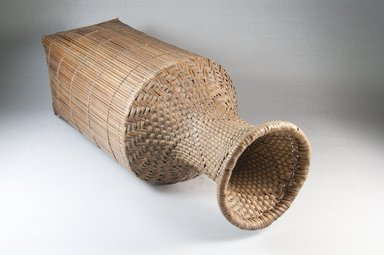 Cassava Sifter, early 20th century. Vegetal fiber, 18 x 4 7/8 in. (45.8 x 12.5 cm). Brooklyn Museum, Museum Expedition 1922, Robert B. Woodward Memorial Fund, 22.831. Creative Commons-BY
