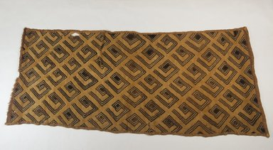 Kuba (Bushoong subgroup). Raffia Cloth, 19th century., 27 5/8 x 12 1/2 in. (70.0 x 32.0 cm). Brooklyn Museum, Museum Expedition 1922, Robert B. Woodward Memorial Fund, 22.989. Creative Commons-BY
