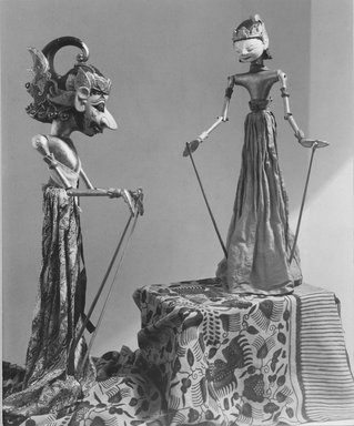 Puppet. Wood, 4 5/16 x 21 1/4 in. (11 x 54 cm). Brooklyn Museum, Gift of Frederic B. Pratt, 23.250. Creative Commons-BY