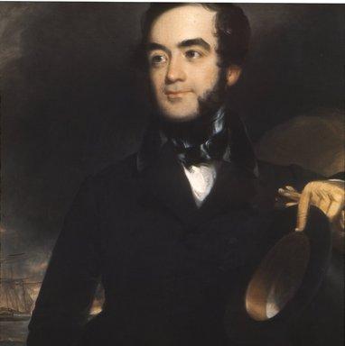 John Neagle (American, 1796-1865). Portrait of a Man, ca. 1845. Oil on canvas, 30 1/16 x 25 1/16 in. (76.3 x 63.6 cm). Brooklyn Museum, Carll H. de Silver Fund, 23.50