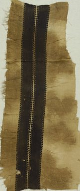 Coptic. Textile, 3rd-4th century C.E. Flax, wool, 38 x 17 1/2 in. (96.5 x 44.5 cm). Brooklyn Museum, Gift of the Long Island Historical Society, 26.742. Creative Commons-BY