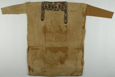Coptic. Tunic, 5th-6th century C.E. Flax, wool, 63 3/8 x 45 1/4 in. (161 x 115 cm). Brooklyn Museum, Gift of the Long Island Historical Society, 26.746. Creative Commons-BY