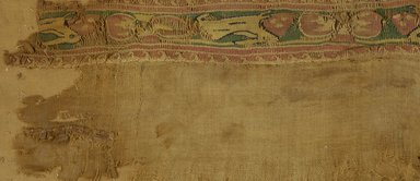 Coptic. Textile. Flax, wool