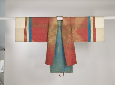 Bride's Robe (Hwalot), 19th century. Embroidered silk panels, gold thread, paper lining, 16 5/16 x 44 1/2 in. (41.5 x 113 cm). Brooklyn Museum, Brooklyn Museum Collection, 27.977.5. Creative Commons-BY