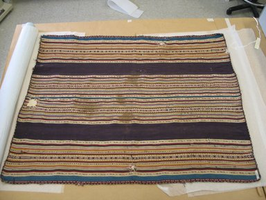 Aymara. Shawl, 18th or 19th Century. Camelid fiber, 33 x 43 in. (83.8 x 109.2 cm). Brooklyn Museum, Alfred T. White Fund, 30.1165.24. Creative Commons-BY