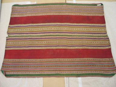 Aymara. Shawl, early 20th Century. Camelid, 29 x 36 in. (73.7 x 91.4 cm). Brooklyn Museum, Alfred T. White Fund, 30.1165.32. Creative Commons-BY