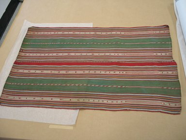 Aymara. Shawl, 19th Century. Camelid fiber, 20 x 32 in. (50.8 x 81.3 cm). Brooklyn Museum, Alfred T. White Fund, 30.1165.7. Creative Commons-BY