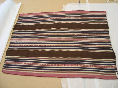 Aymara. Shawl, 19th Century. Camelid fiber, 27 x 36 3/8 in. (68.6 x 92.4 cm). Brooklyn Museum, Alfred T. White Fund, 30.1165.8. Creative Commons-BY