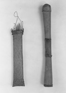 Quiver with Arrows, early 20th century. Armor, 23 1/2 x 2 1/2 in. (59.7 x 6.4 cm). Brooklyn Museum, Gift of Lucy Addoms, 30.1272. Creative Commons-BY