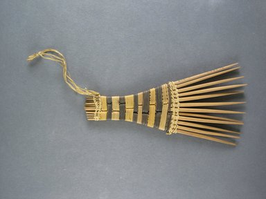Mangbetu. Hair Comb. Reed Brooklyn Museum, Museum Expedition 1931, Robert B. Woodward Memorial Fund, 31.1903. Creative Commons-BY