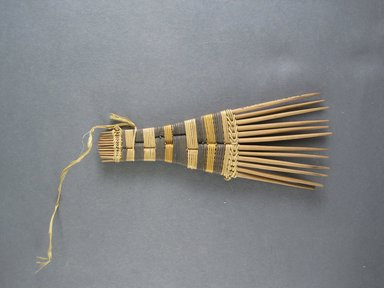 Mangbetu. Hair Comb. Reed Brooklyn Museum, Museum Expedition 1931, Robert B. Woodward Memorial Fund, 31.1904. Creative Commons-BY