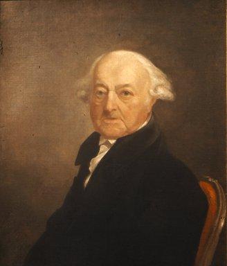 Samuel Finley Breese Morse (American, 1791-1872). Portrait of John Adams, 1816. Oil on canvas, 29 3/4 x 24 15/16 in. (75.5 x 63.4 cm). Brooklyn Museum, Gift of Harriet H. White, 32.144