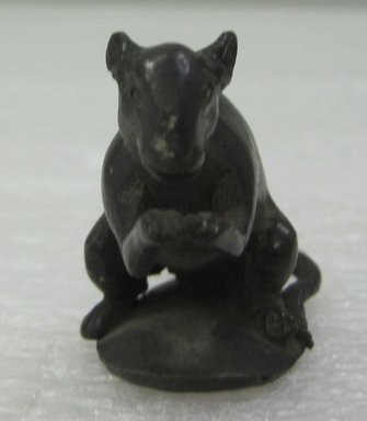 Figure of Mouse. Bronze Brooklyn Museum, Gift of the executors of the Estate of Colonel Michael Friedsam, 32861. Creative Commons-BY