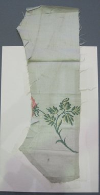 American. Embroidery (Eight Items), 1790-1810. Silk, metal, d: 14 x 14 in. (35.6 x 35.6 cm). Brooklyn Museum, Gift of A. H. Halsted, 33.11.10a-h