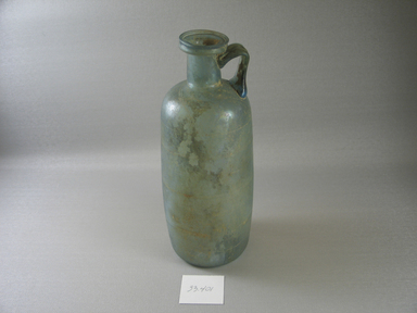 Roman. Bottle with Incised Line Decoration, 2nd - early 3rd century C.E. Glass, 8 1/16 x greatest diam. 3 1/8 in. (20.4 x 7.9 cm). Brooklyn Museum, Frederick Loeser Fund, 33.401. Creative Commons-BY