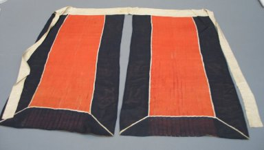 Theatrical Skirt, 19th Century. Cloth silk gauze, satin, folded: 16 9/16 x 33 1/16 in. (42 x 84 cm). Brooklyn Museum, Brooklyn Museum Collection, 34.1400. Creative Commons-BY
