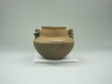 Jar, 1000-1520. Ceramic, 3 1/2 x 4 1/4 x 4 1/4 in. (8.9 x 10.8 x 10.8 cm). Brooklyn Museum, Alfred W. Jenkins Fund, 34.1756. Creative Commons-BY