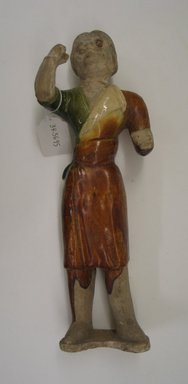 Tomb Figure of a Groom, 618-906. Earthenware, 17 in. (43.2 cm). Brooklyn Museum, Brooklyn Museum Collection, 34.5695. Creative Commons-BY
