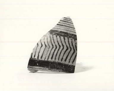 Small Fragment from Body of Jar. Pottery, 1 9/16 x 2 1/4 in. (4 x 5.7 cm). Brooklyn Museum, Gift of the Egypt Exploration Society, 34.6043b. Creative Commons-BY