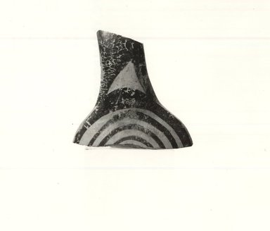 Brooklyn Museum: Fragment, Probably from Neck and Handle of a Stirrup Vase