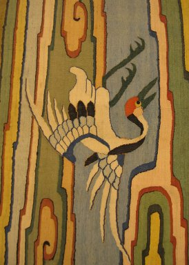 Hanging, 19th Century. Silk & Ramie tapestry (Kossu), 19 5/16 x 59 13/16 in. (49 x 152 cm). Brooklyn Museum, Brooklyn Museum Collection, 34.77. Creative Commons-BY