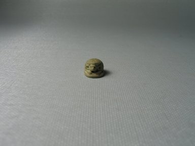 Scarab, ca. 727–712 B.C.E., perhaps. Steatite, glazed, 3/8 x 1/2 x 9/16 in. (1 x 1.2 x 1.5 cm). Brooklyn Museum, Gift of Theodora Wilbour from the collection of her father, Charles Edwin Wilbour, 35.1159. Creative Commons-BY