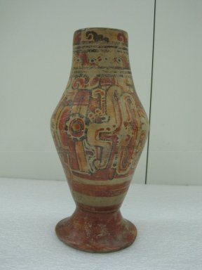 Ancestral Lenca. Pedestal Vase, ca. 900-1250. Ceramic, pigment, 11 7/16 x 4 3/4 in. (29 x 12 cm). Brooklyn Museum, A. Augustus Healy Fund, 35.1491. Creative Commons-BY