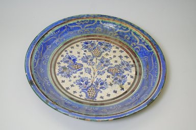 Large Plate, 19th century. Ceramic, 1 7/8 x 13 7/8 in. (4.8 x 35.2 cm). Brooklyn Museum, Brooklyn Museum Collection, 35.1919. Creative Commons-BY