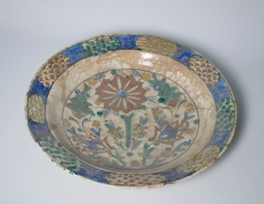 Large Plate, 17th century. Ceramic, 2 5/8 x 13 11/16 in. (6.6 x 34.8 cm). Brooklyn Museum, Gift of Frank L. Babbott, 35.675. Creative Commons-BY