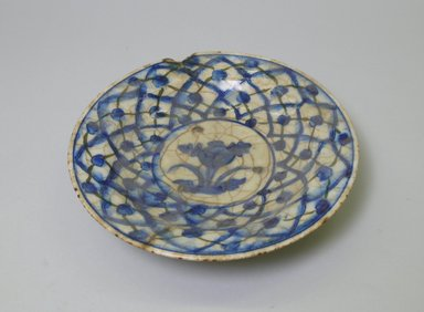 Small Plate. Ceramic, 1 13/16 x 8 3/8 in. (4.6 x 21.2 cm). Brooklyn Museum, Brooklyn Museum Collection, 35.688.1. Creative Commons-BY