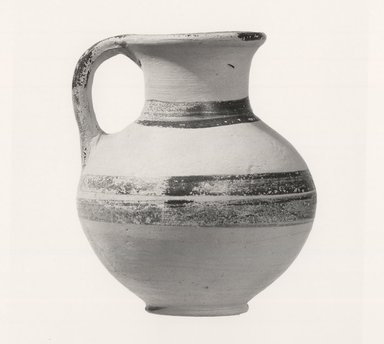 Jug, ca.1250 B.C.E. Pottery, painted, Height: 3 1/2 in. (8.9 cm). Brooklyn Museum, Charles Edwin Wilbour Fund, 35.740. Creative Commons-BY