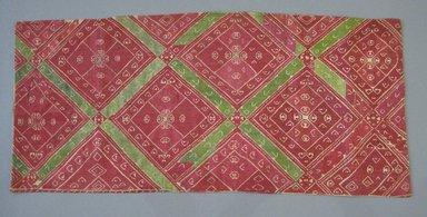 Greek. Strip of Linen, 19th century. Linen, silk thread, silk backing, 36 1/4 x 16 1/4 in. (92.1 x 41.3 cm). Brooklyn Museum, Gift of Mrs. Frederic B. Pratt, 36.1. Creative Commons-BY