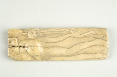 Byzantine. Carving. Bone, 1 7/16 x 4 3/8 in. (3.6 x 11.1 cm). Brooklyn Museum, Frank L. Babbott Fund and Henry L. Batterman Fund, 36.163. Creative Commons-BY