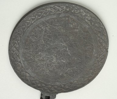 Byzantine. Flabellum, 14th century C.E. Iron, 10 1/2 x Diam. 5 1/16 in. (26.7 x 12.8 cm). Brooklyn Museum, Frank L. Babbott Fund and Henry L. Batterman Fund, 36.197. Creative Commons-BY