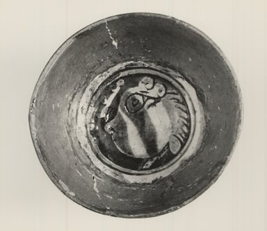 Byzantine. Round Bowl on a Boss, ca. 1450. Ceramic, 1 3/8 x 2 3/4 in. (3.5 x 7 cm). Brooklyn Museum, Frank L. Babbott Fund and Henry L. Batterman Fund, 36.204. Creative Commons-BY