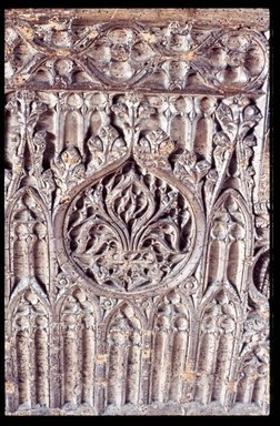 Front Panel of a Chest, late 15th century. Baywood, 26 1/2 x 47 3/4 x 21 1/2 in. (67.3 x 121.3 x 54.6 cm). Brooklyn Museum, Gift of Mr. and Mrs. Frederic B. Pratt, 36.211. Creative Commons-BY