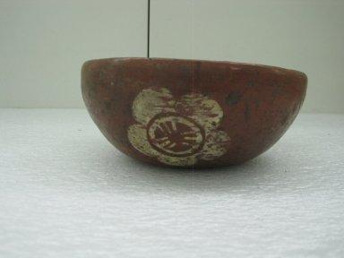 Aztec. Bowl, ca. 1350-1500. Ceramic, pigment, 2 7/16 x 6 5/16 x 6 5/16 in. (6.2 x 16 x 16 cm). Brooklyn Museum, Carll H. de Silver Fund, 36.579. Creative Commons-BY