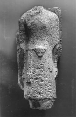 High Priest of Amun, Men-kheper-re-seneb, 1479-1425 B.C.E. Granite, 28 3/8 x 10 7/16 x 12 15/16in. (72 x 26.5 x 32.8cm). Brooklyn Museum, Charles Edwin Wilbour Fund, 36.613. Creative Commons-BY