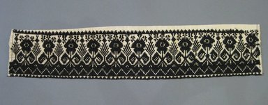 Tarascan. Embroidered Strip, 19th century. Cotton and wool thread, 25 1/4 x 5 1/4 in. (64.1 x 13.3 cm). Brooklyn Museum, Frank L. Babbott Fund, 36.769. Creative Commons-BY