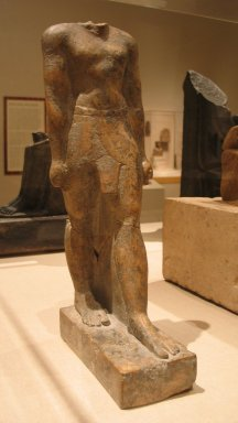 Statue of a Priest, Wen-amun Son of Nes-ba-neb-dedet and Ta-sherit-Khonsu