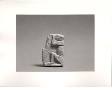 Small Monkey in Sitting Position with Upraised Arms. Limestone Brooklyn Museum, Gift of the Egypt Exploration Society, 36.884. Creative Commons-BY