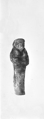 Brooklyn Museum: Uninscribed Shawabti at Amulet