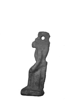 Amulet Representing an Ape. Serpentine, 1 3/16 x 5/16 x 3/8 in. (3 x 0.8 x 1 cm). Brooklyn Museum, Charles Edwin Wilbour Fund, 37.1198E. Creative Commons-BY