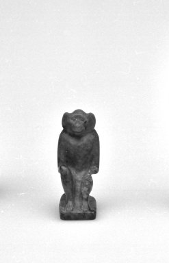 Monkey Seal Inscribed for King Apries. Lapis lazuli, 11/16 x 1/4 x 1/2 in. (1.8 x 0.6 x 1.2 cm). Brooklyn Museum, Charles Edwin Wilbour Fund, 37.1203E. Creative Commons-BY